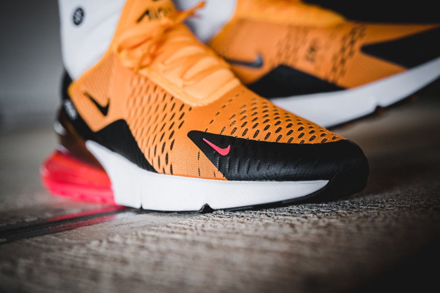Chaussure Nike Air Max 270 Tiger Orange pour homme (AH8050-004)