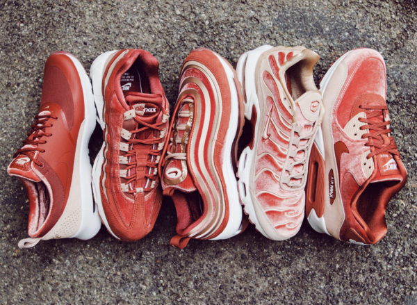 159d50664fa Avis  Guide des achats   les Air Max 97 LX Velvet Dusty Peach  Bacon