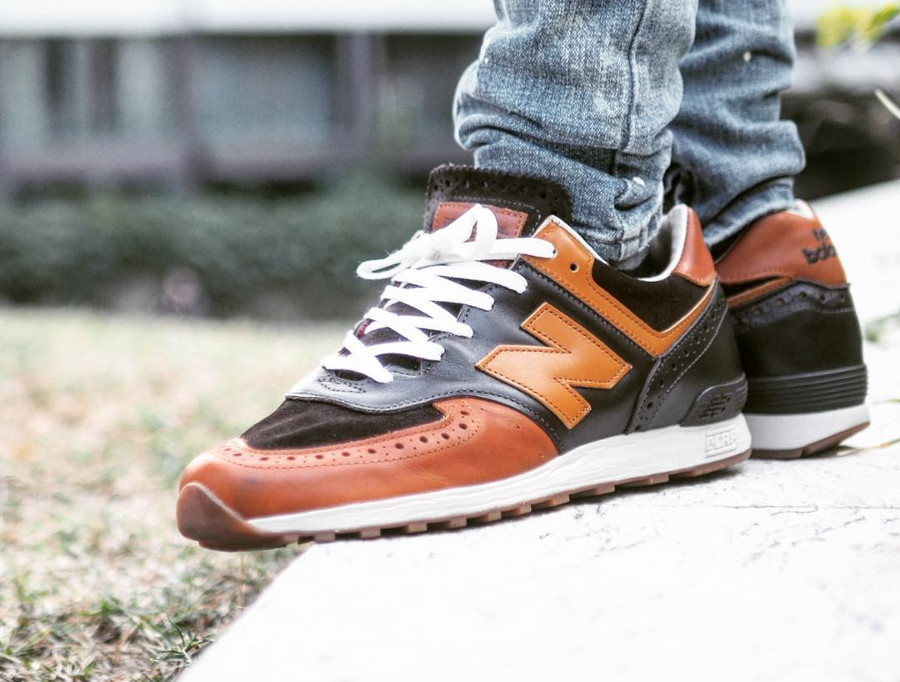 New Balance M576GSN on feet - @acyyw201