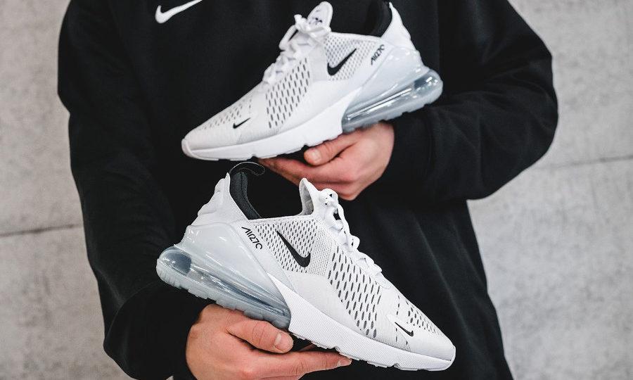 Nike Air Max 270 White Black 2019 AH8050-100