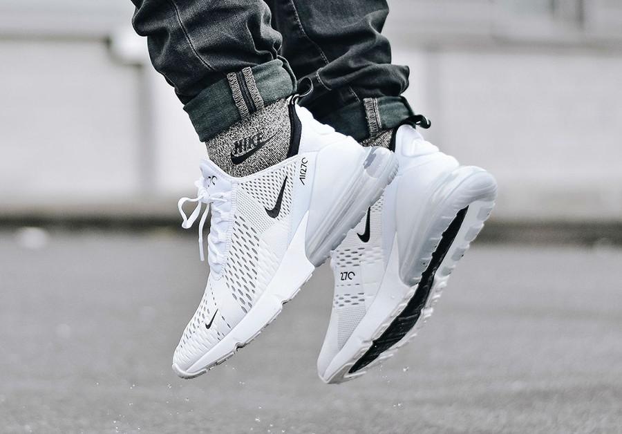 Nike Air Max 270 blanche et noire (3)