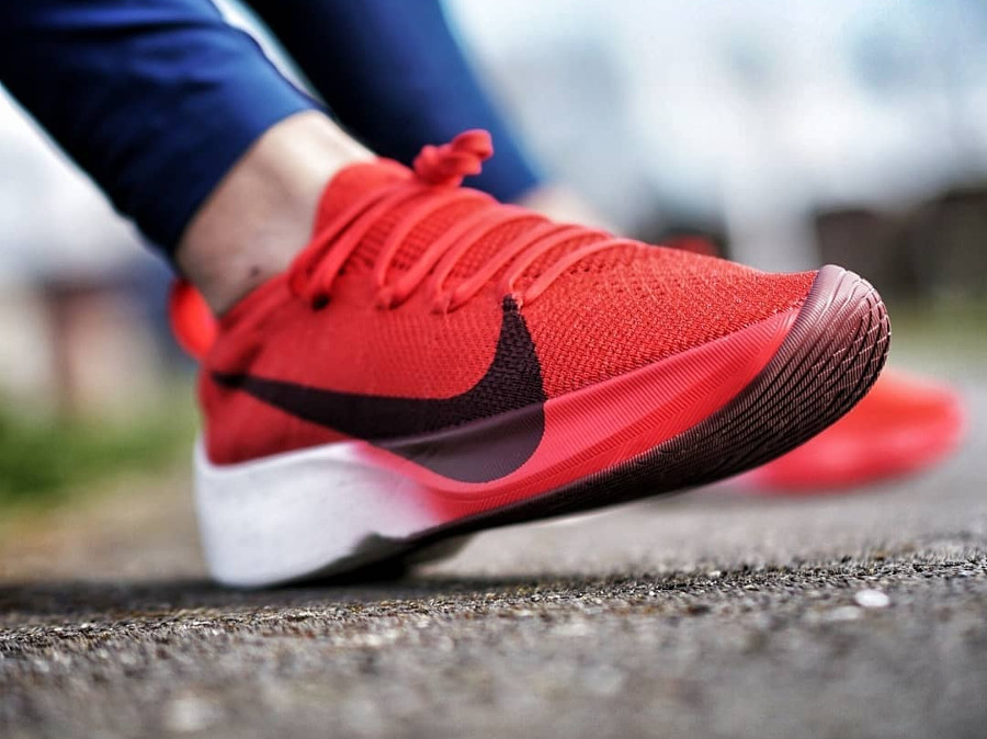 Nike Vapor Street Flyknit University Red - @rockitdontstockit