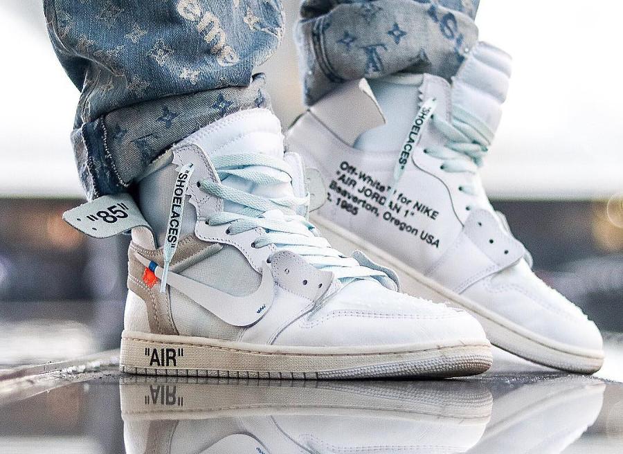 Off White x Air Jordan 1 High White - @ryxn_dh