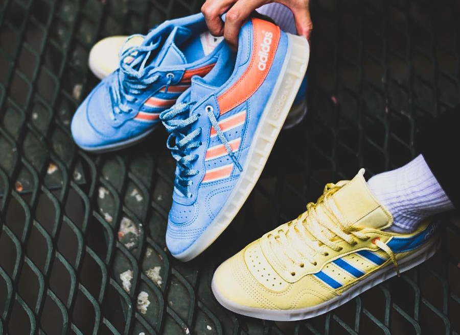 Oyster Holdings x Adidas Handball Top & 350 Suede 'Pastel'