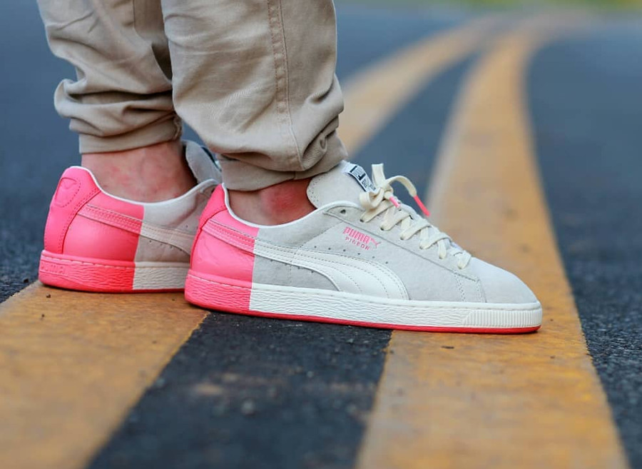 Staple x Puma Suede 'Grey Peach' (#SDJ 30/03/2018)