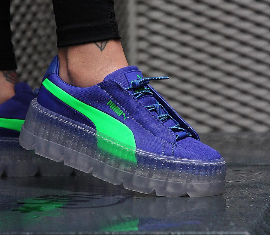 a858921a214 Puma Suede Guide Achats Cleated Creeper Avis Rihanna Fenty Des wxXPx6qY