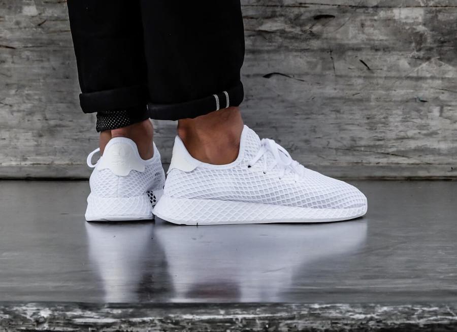 adidas deeprut blanche