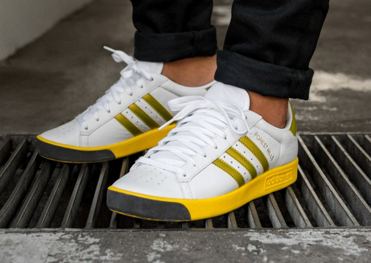 Adidas Forest Hills OG 'White Gold EQT Yellow'