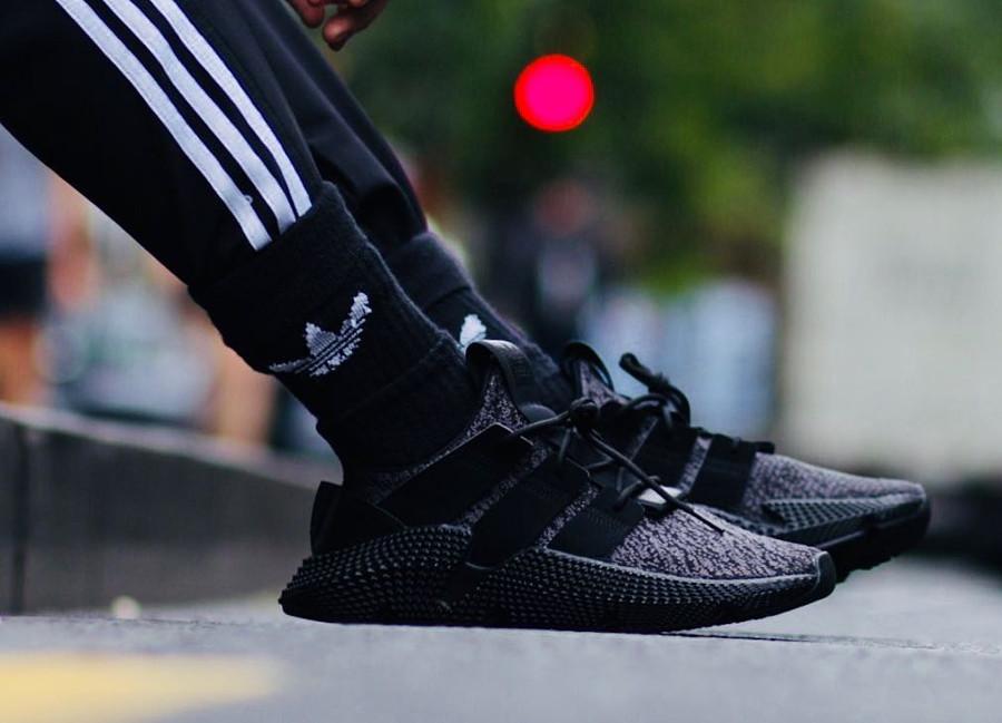 Guide des achats : Les Adidas Prophere Knit beige, noire et