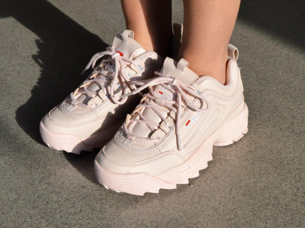 Fila Wmns Disruptor Low Premium 'Peach Whip'