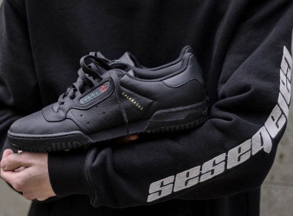 Adidas Yeezy Powerphase 'Core Black'