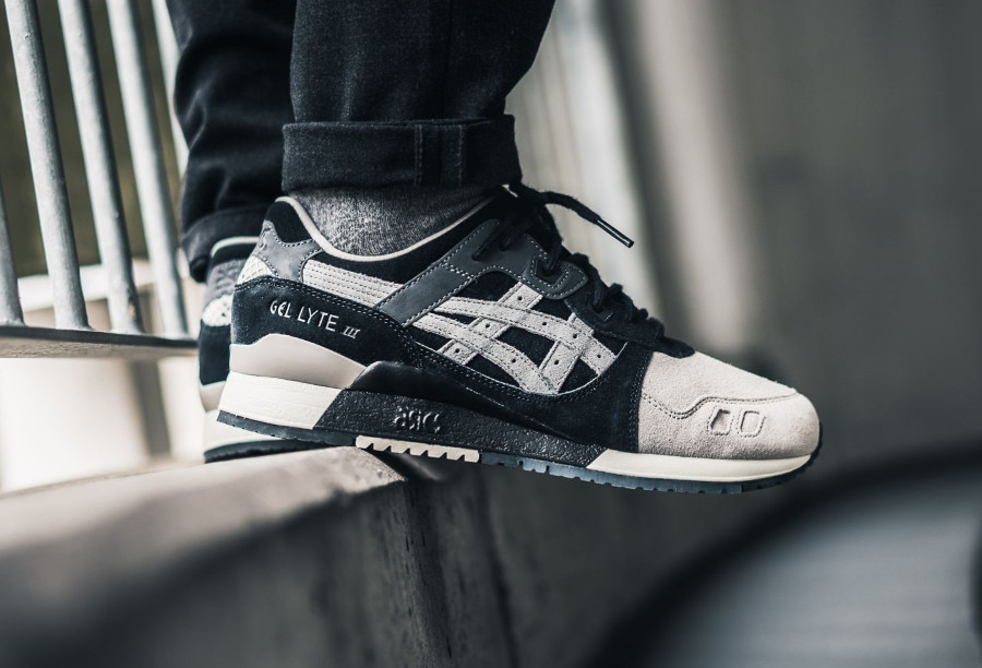 Chaussure Kicks Lab x Asics Gel Lyte 3 KL Shinobi on feet