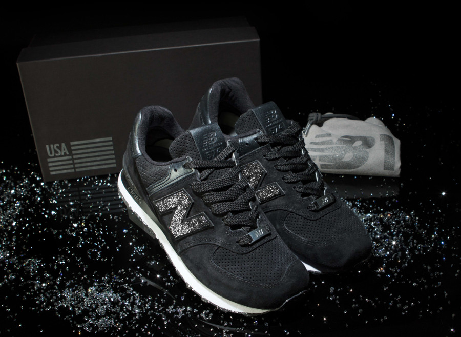 basket-new-balance-574-nb1-daim-cristaux- Swarovski (2)