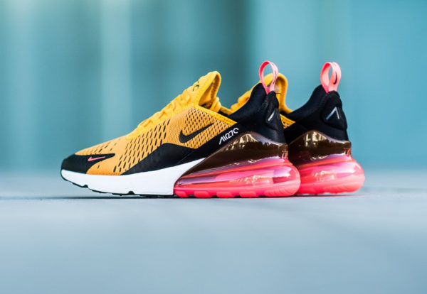 air max 270 jaune noir orange