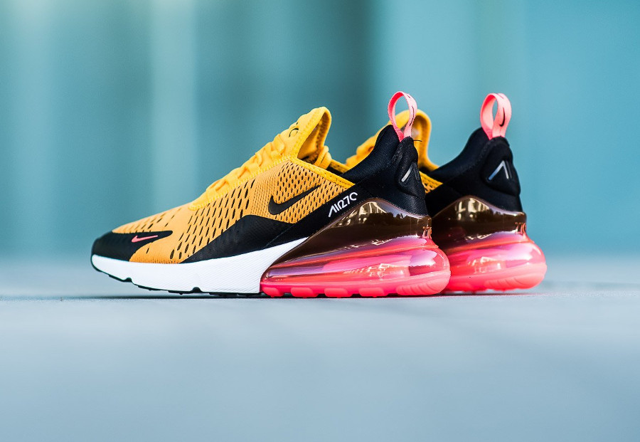 Nike Air Max 270 'Tiger' Black University Gold