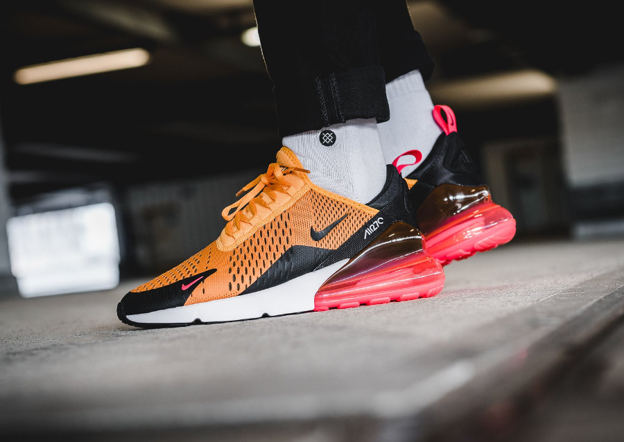 Avis] Guide des achats : Nike Air Max 270 Tiger Orange