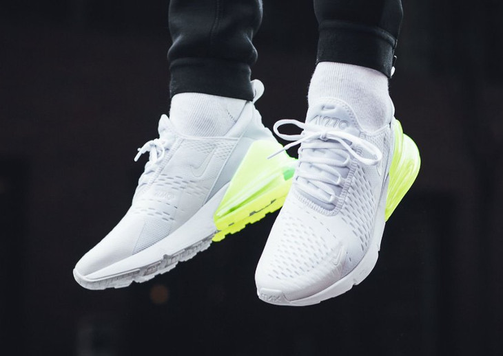 nouvelle arrivee 442c1 ccb64 Avis] Nike Air Max 270 White Pack : 4 Air270 blanches ...