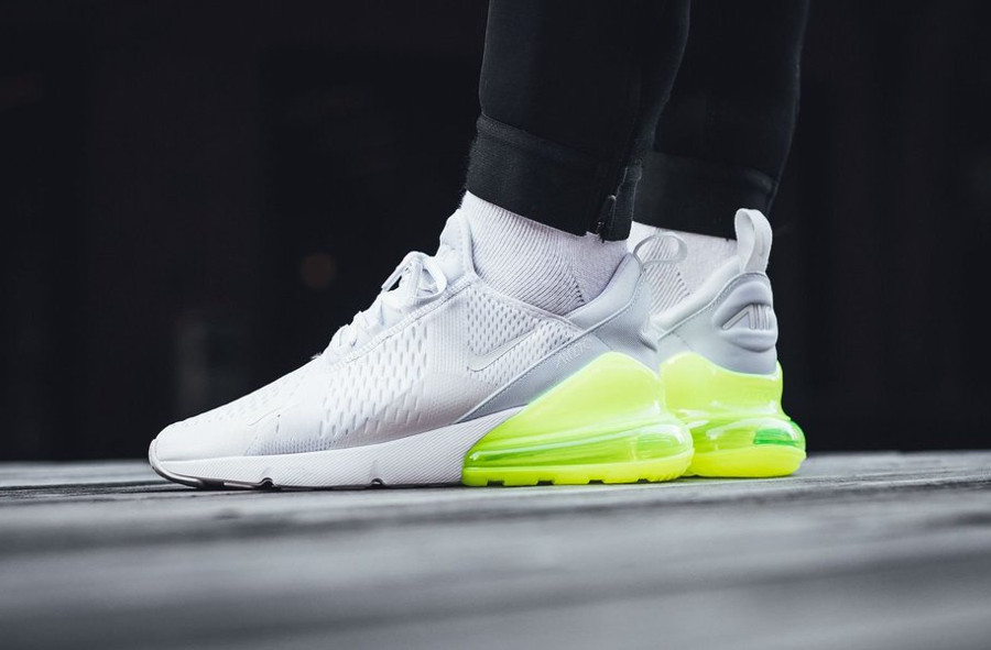 Avis] Nike Air Max 270 White Pack : 4 Air270 blanches ...