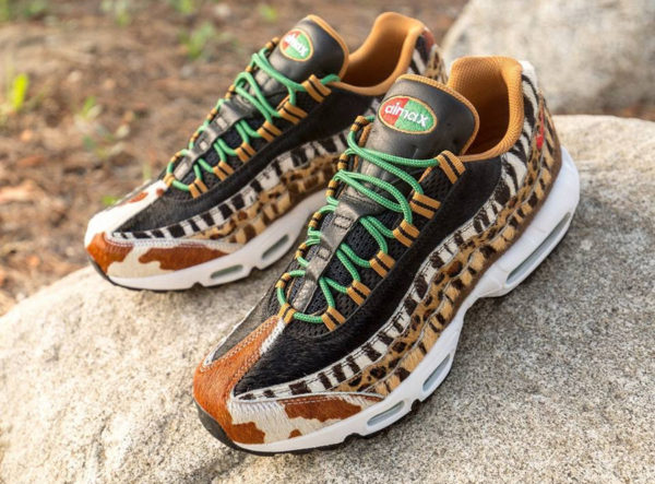 Atmos x Nike Air Max 95 Pony Hair Animal 2.0 2018