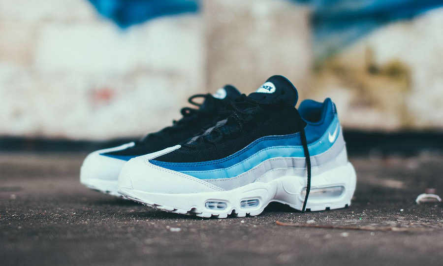 Chaussure Nike Air Max 95 Essential Reverse Stash dégradé bleu