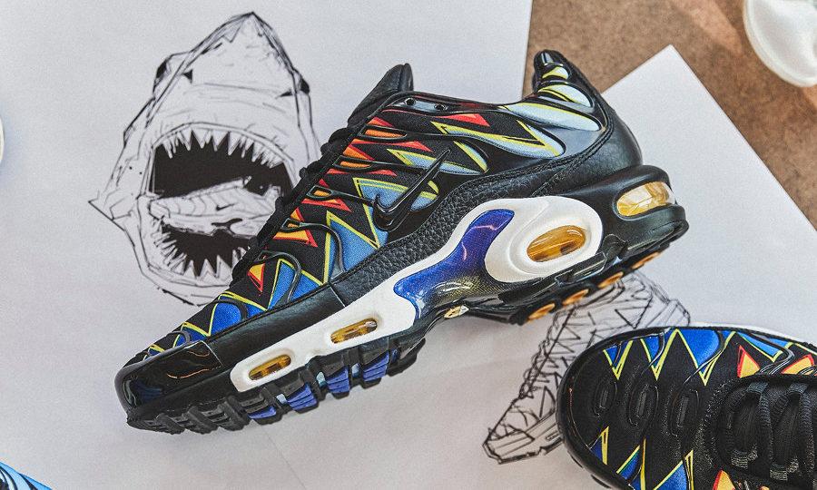 Chaussure Nike Air Max Plus FR Paris Dents de Requin