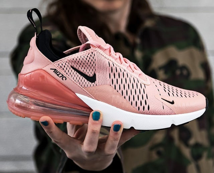 air max 270 grise et rose