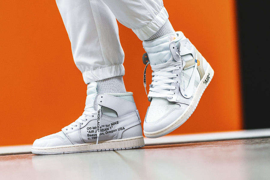 Off White x Air Jordan 1 White (Air Jordan 1 ™ For Nike, Beaverton, Oregon USA, c. 1985)
