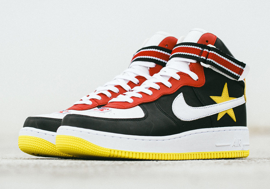 pretty nice eef1a 91c79 basket-riccardo-tisci-nike-air-force-1-montante-