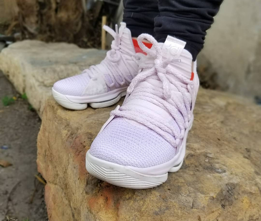 outlet store 9e476 d25dc Avis] Guide des achats : Nike KD X 10 Aunt Pearl (Flyknit rose)
