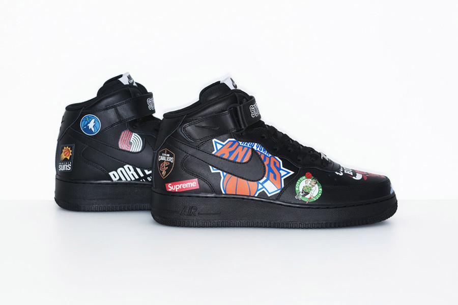 chaussure-de-basket-supreme-nike-air-force-1-mi-montante-nba-noire-AQ8017-001 (2)