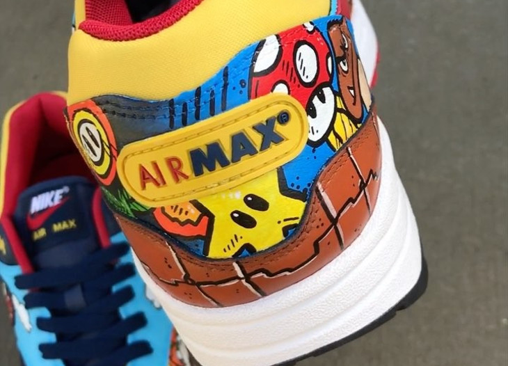 chaussure-nike-air-max-1-customisée-super-mario-bros (1)