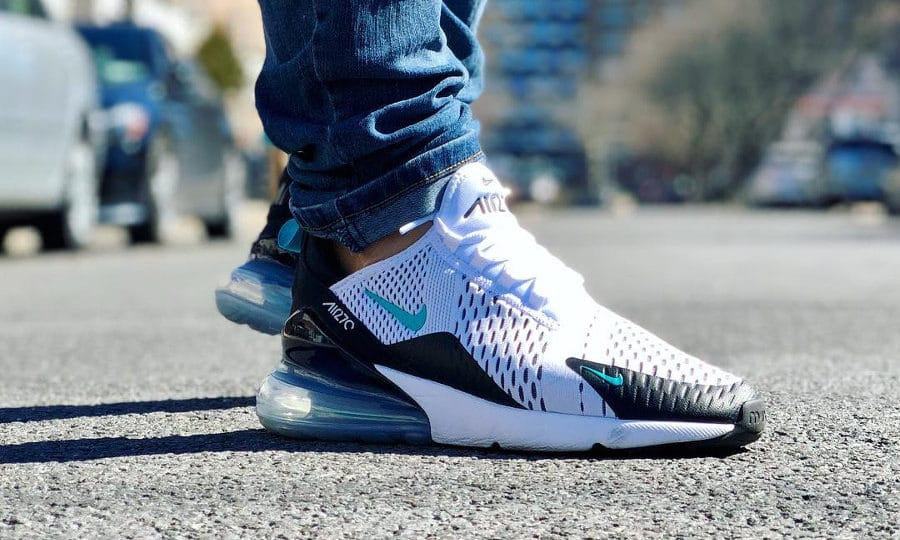 Chaussure Nike Air Max 270 OG Dusty Cactus Menthol homme on feet (AH8050 001)