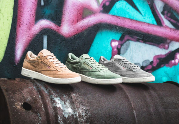 Le pack Montana Cans x Reebok Club C 85 'Color System'