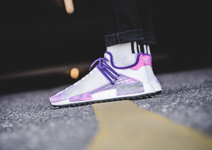Chaussure de basket Adidas NMD HU Trail MC Holi Supplier Colour Powder Dye