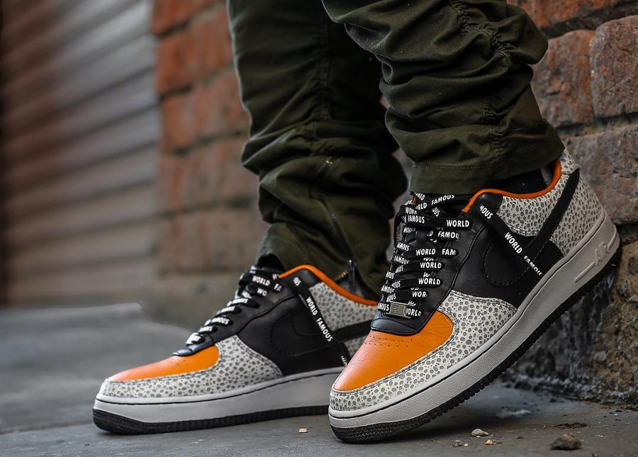 2008 Nike Air Force 1 Low Supreme Safari - bk2az_kickz