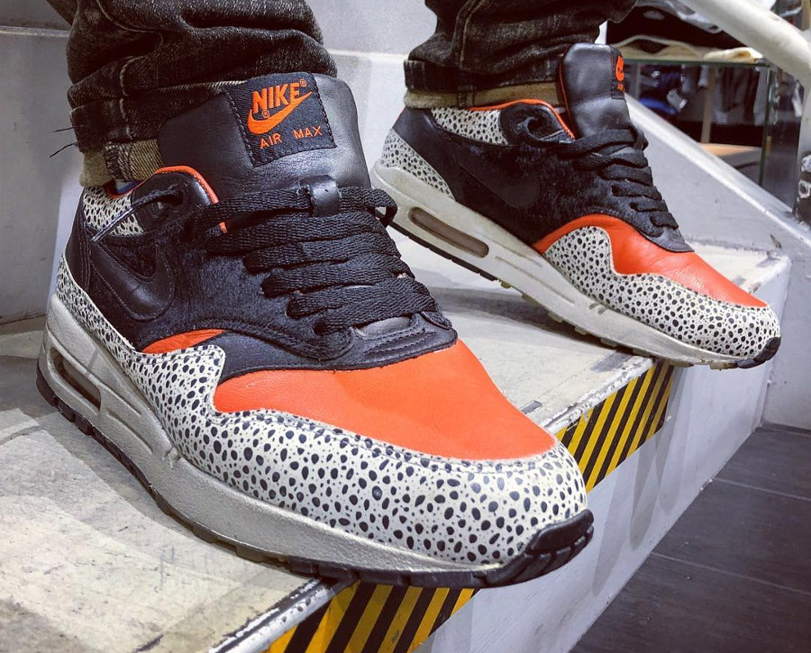 2008 Nike Air Max 1 QS Safari Keep Rippin Stop Slippin - @afrokix
