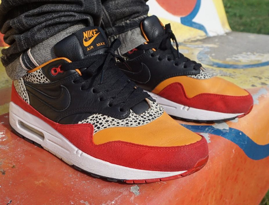 2009 - Nike Air Max 1 Carrot Safari- @tomasterrr
