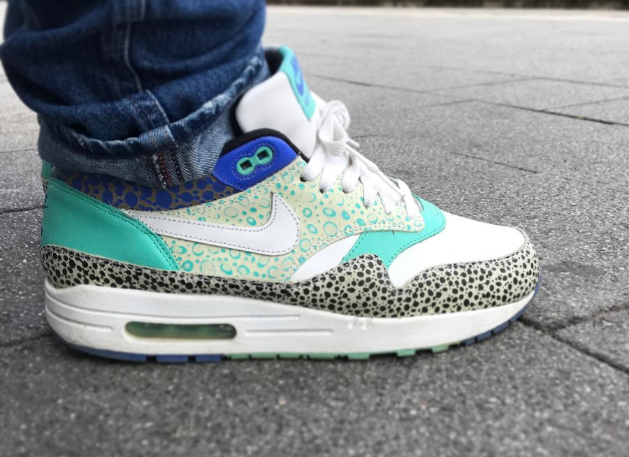 2009 Nike Air Max 1 Premium Mint Safari - @aleksaireazy