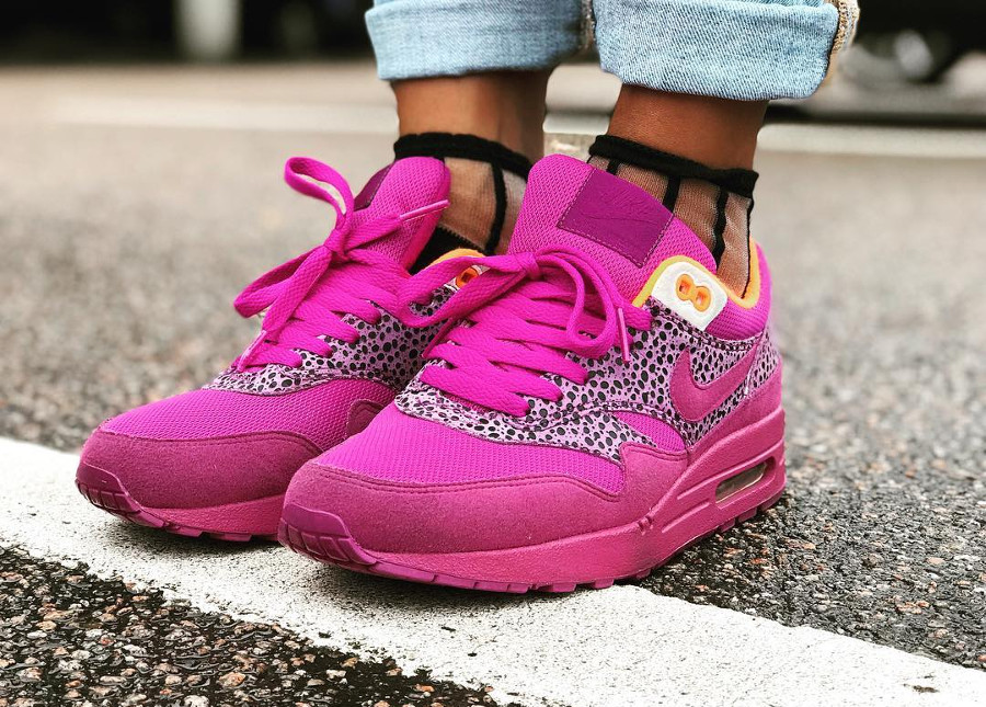 2009 - Nike Wmns Air Max 1 Safari Red Plum - @dopepattas
