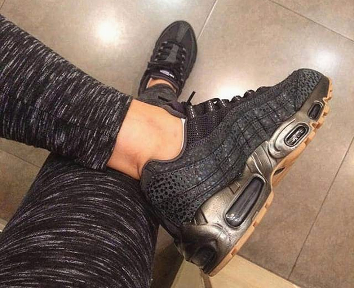 2015 Nike Wmns Air Max 95 Black Safari - @sladja____