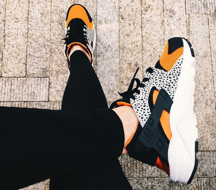 2016 - Nike Air Huarache GS Safari Clay Orange - @alysouv