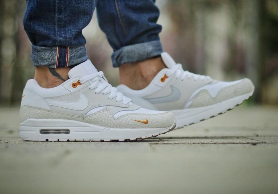 2016 Nike Air Max 1 Premium Kumquat Safari - @joshjo
