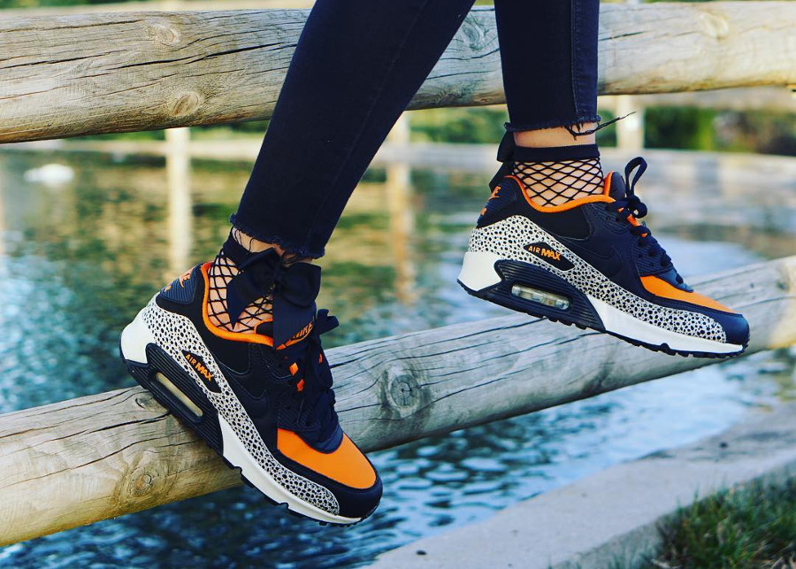 2016 Nike Air Max 90 GS Safari - @carolalain22