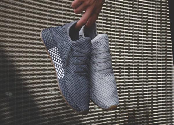 Adidas Originals Deerupt Runner Gumsole Grey Three Four