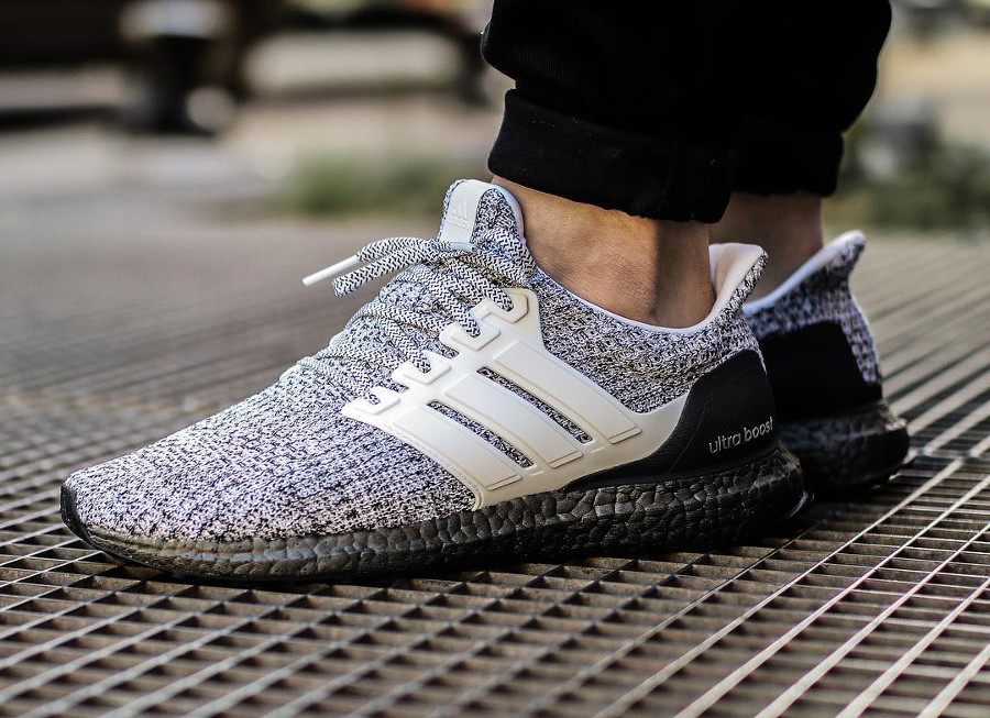 Adidas Ultra Boost 4.0 Oreo on feet - @cedric_castex