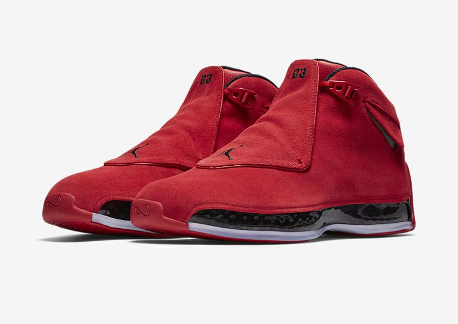 Air Jordan XVIII Gym Red