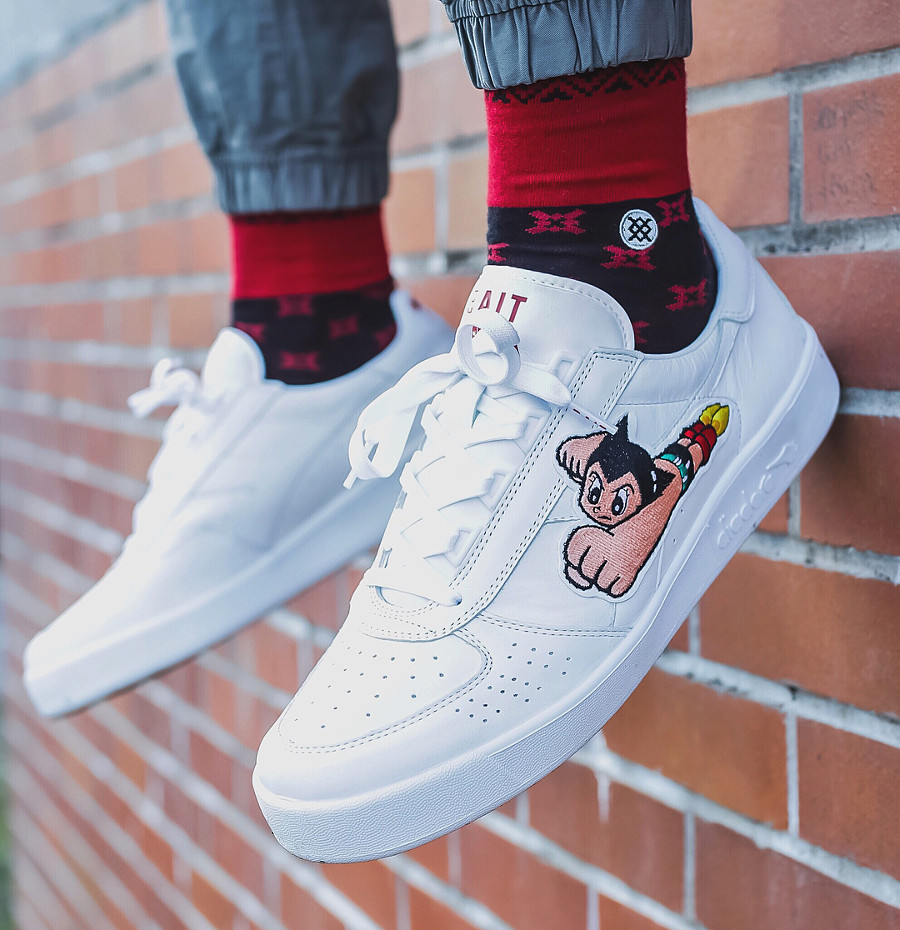 Bait x Diadora B Elite Astro Boy on feet - @dondiadoraog
