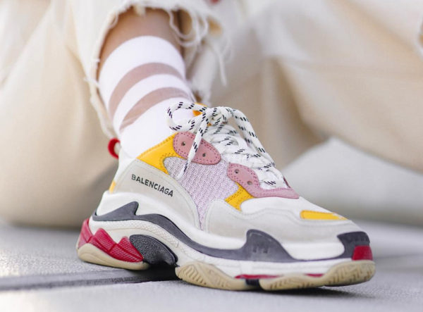 Balenciaga Triple S reine des baskets moches -