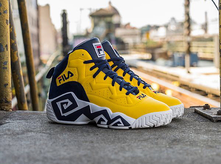 Basket Fila MB Golden Yellow (1)