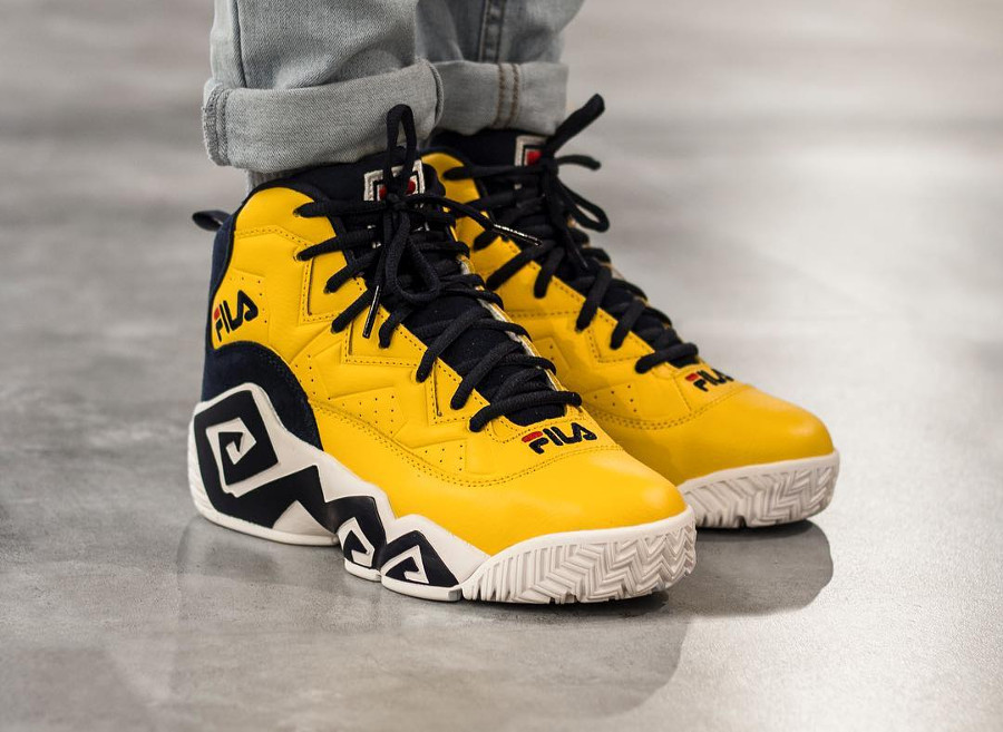 Basket Fila MB Golden Yellow (3)